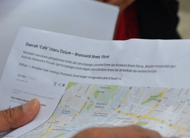 Peta Sebagai Informasi awal dalam Proses Pembelajaran